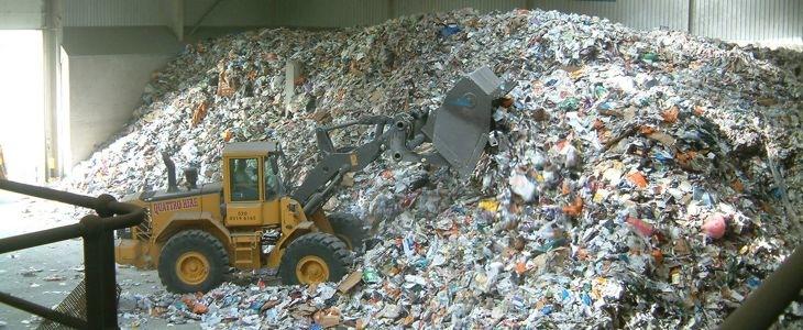 déchets plastiques pour recyclage