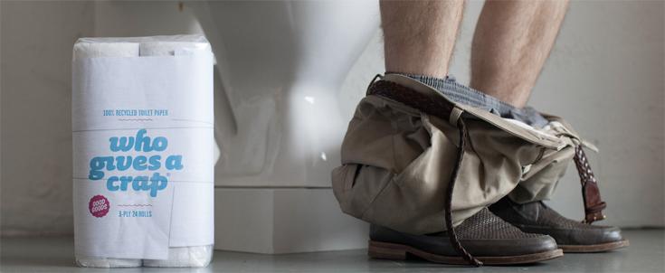 papier toilette recyclé