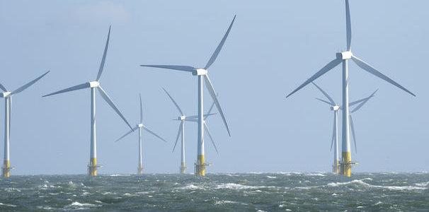 Ferme d'éoliennes offshore