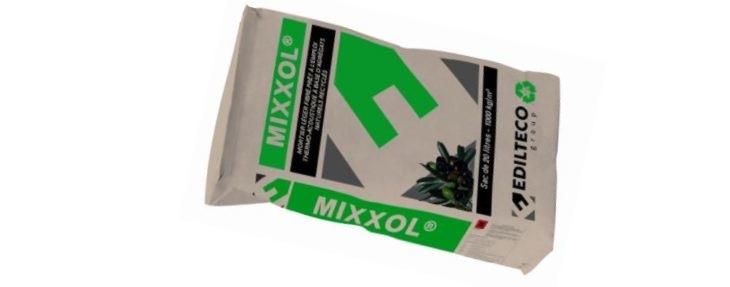Le Mixxol est un mortier à base de noyaux d'olive aux caractéristiques équivalente à du béton classique
