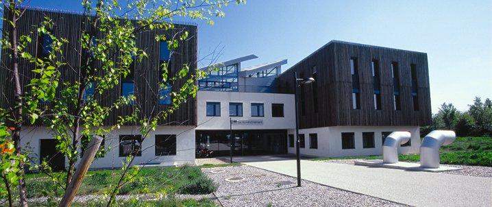 """Projet """" Modulife"""" d'habitat économe en énergie. Crédit : Philippe Bovet"""