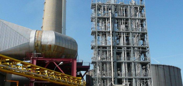 Démonstrateur à la centrale thermique du Havre
