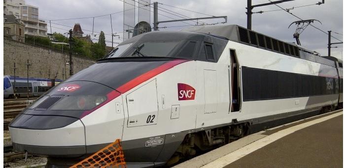 Train TGV de la SNCF