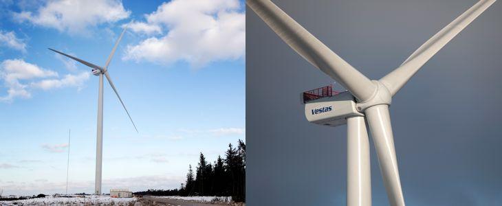 La V164-8.0, l'éolienne la plus puissante du monde en janvier 2014