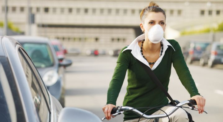 Recommandations en cas de pollution aux particules fines