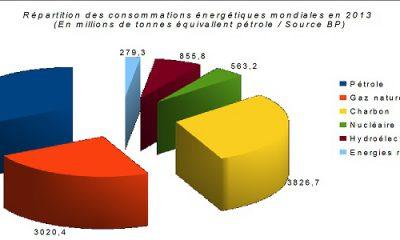 Répartition des énergies en 2013