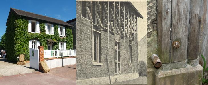La première maison en paille du monde, se trouve en France
