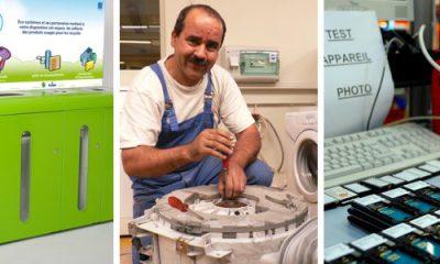collecte et réparation de déchets électronique DEEE