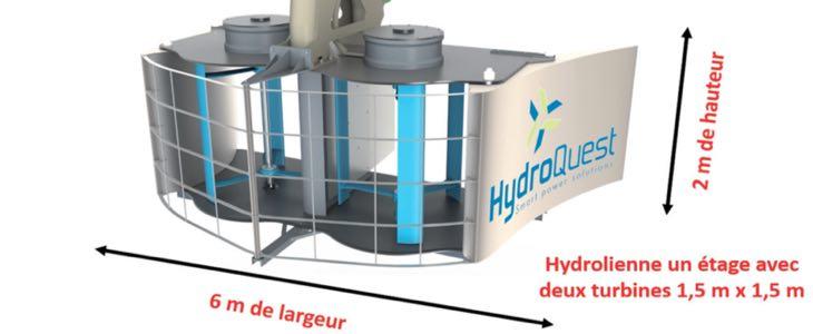 hydrolienne fluviale