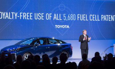 toyota et voiture à hydrogène