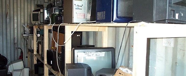 déchets électroniques et électriques