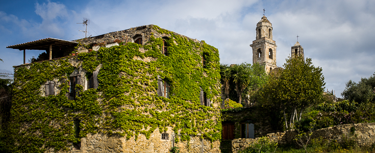 Bussana Vecchia. © 2015 Normand Primeau Fine Art Photography. All rights reserved.