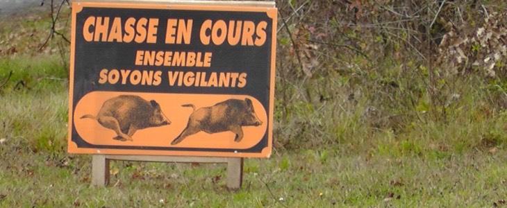 interdiction de promenade pour cause de chasse