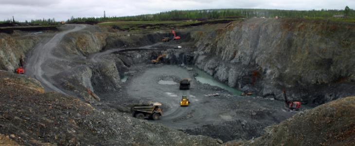 Une mine en Finlande