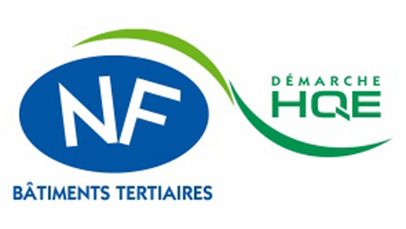 Logo NF HQE Bâtiments tertiair