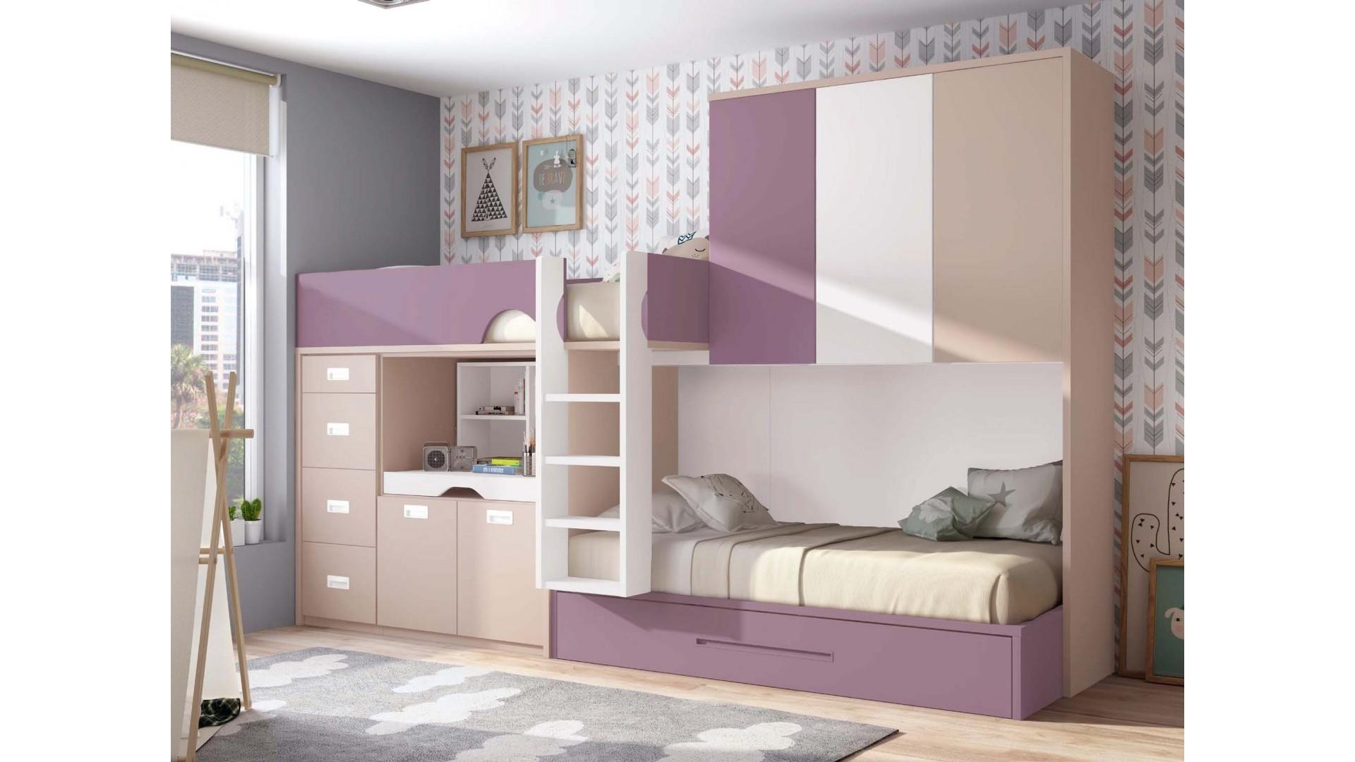 Lit Superposé 3 Étages les lits superposés, alliez tendance et praticité | univers