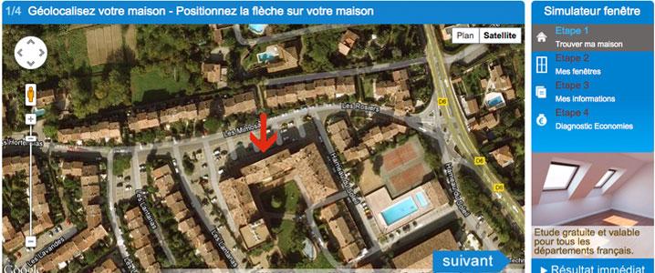 geolocalisation de votre logement