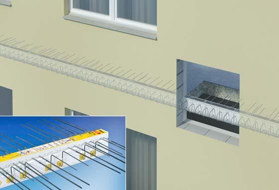 habitat traiter les ponts thermiques pour une isolation sans faille univers nature. Black Bedroom Furniture Sets. Home Design Ideas