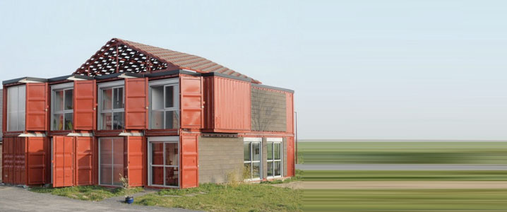 Maison en conteneurs ecosa design studio flagstaff for Construction maison avec container
