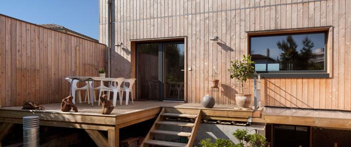 exemple de realisation de maisons durable