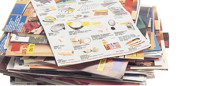 dechets papiers